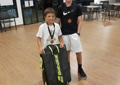 Teo Davidov Tennis Champion